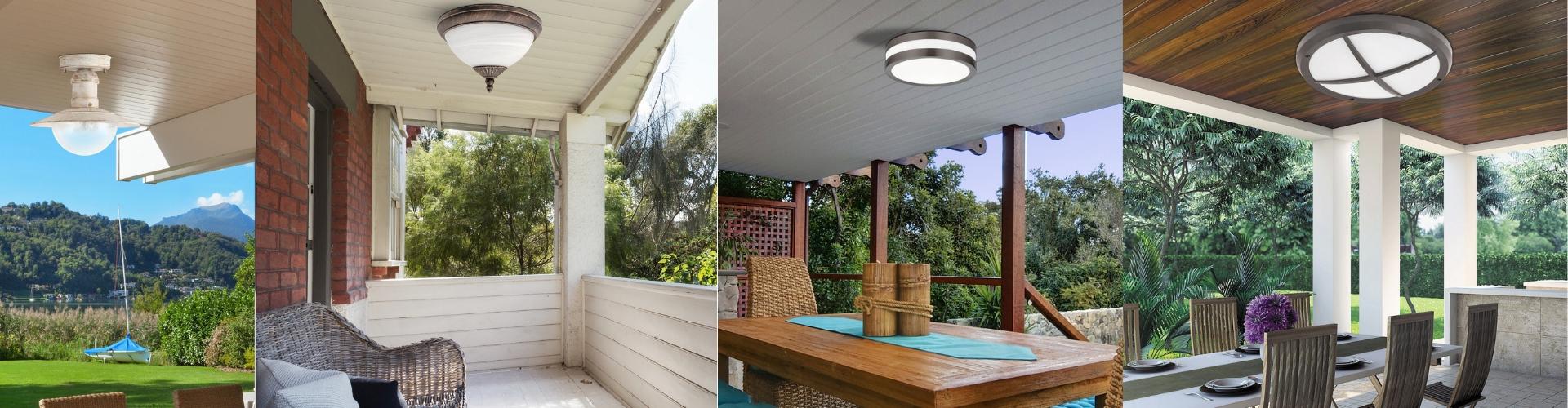 Vanjske stropne svjetiljke